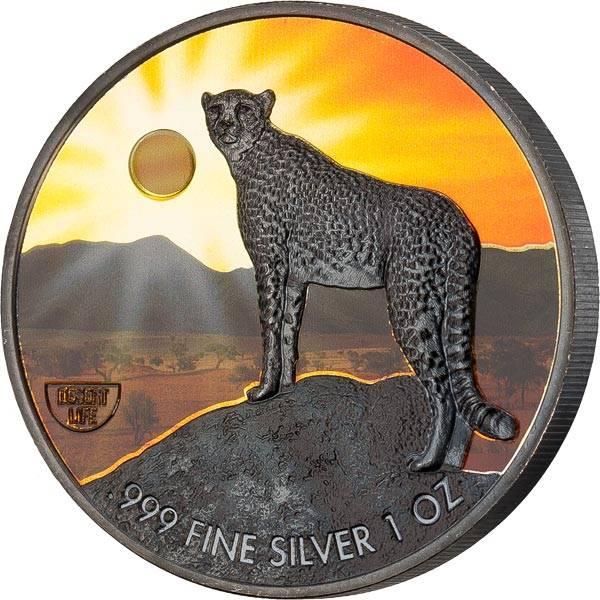 2 Dollars Niue Gepard 2020