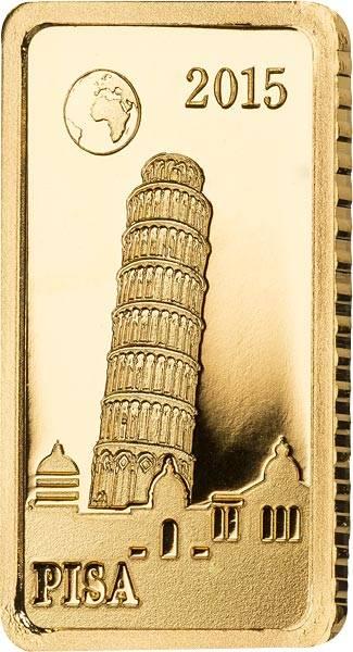 10 Dollars Salomonen Pisa Schiefer Turm 2015
