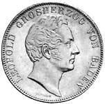 Doppeltaler Baden Leopold Silber 1841-1843 ss-vz