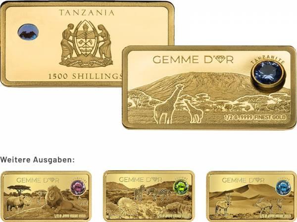 Goldbarren-Kollektion: Gemme d'Or