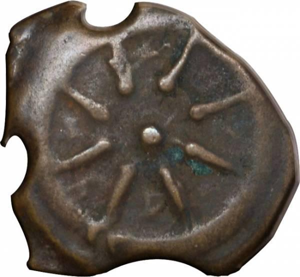 Judäa Pruta Scherflein einer Witwe ab 103 v.Chr. s-ss