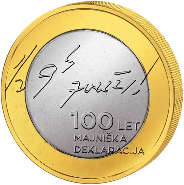 3 Euro Slowenien 100 Jahre Mai-Deklaration 2017