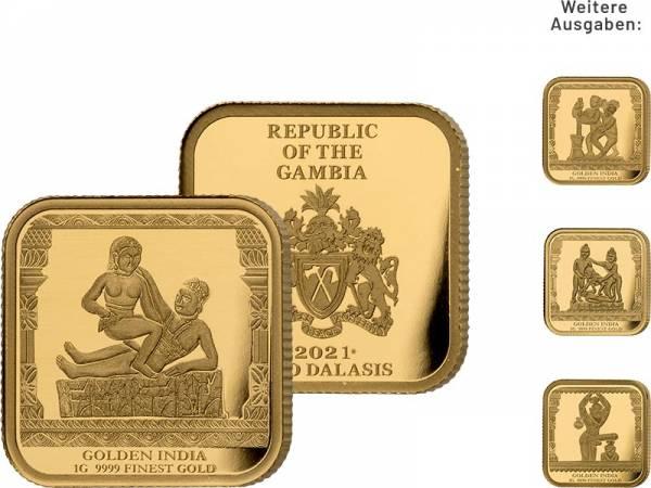 Gold-Kollektion: Golden India
