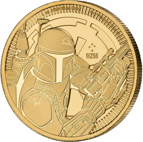 1 Unze Gold Niue Star Wars Boba Fett 2020