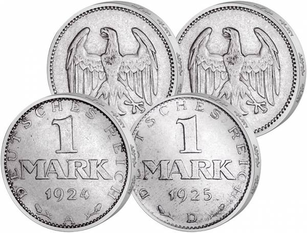 2 x 1 Mark Weimarer Republik