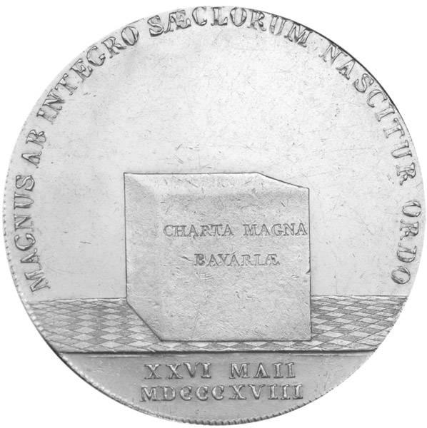 Taler Konventionstaler Maximilian Joseph 1818 Vorzüglich