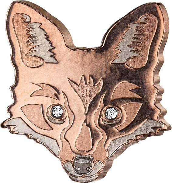 5 Dollars Fidschi Animal Masks Fuchs 2018