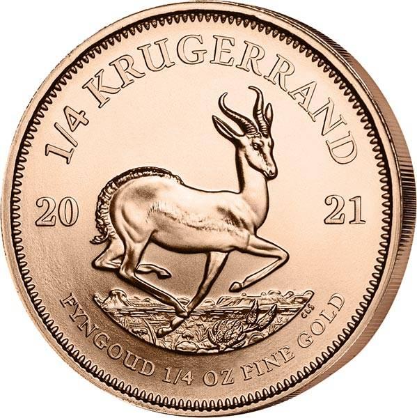 1/4 Unze Gold Südafrika Krügerrand 2021