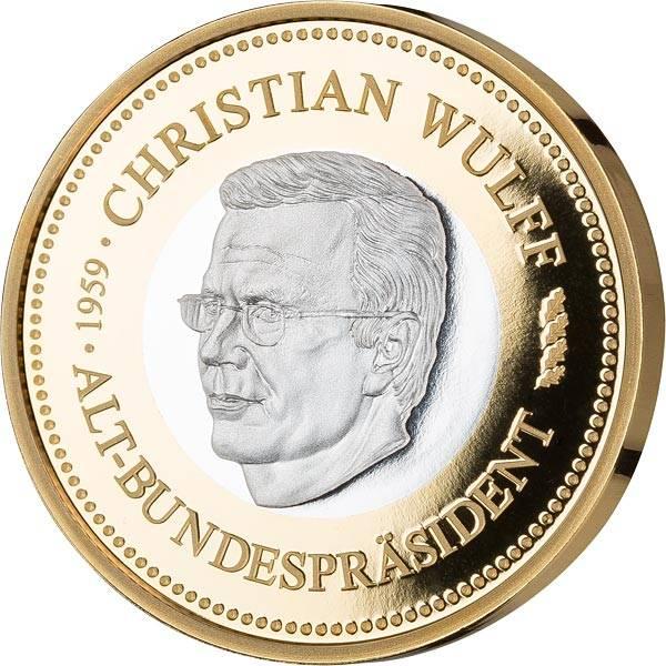 Gedenkprägung Christian Wulff