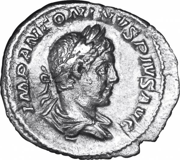 Denar  Rom Kaiser Elagabalus 218-222  ss-vz
