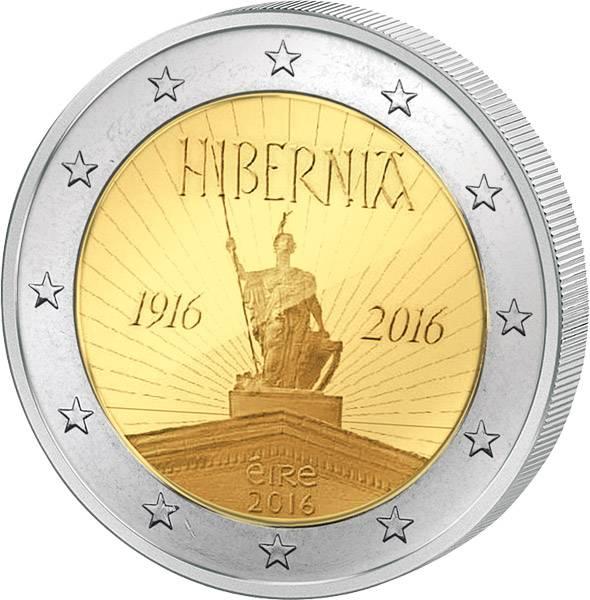 2 Euro Irland 100 Jahre Osteraufstand von 1916 2016 prägefrisch