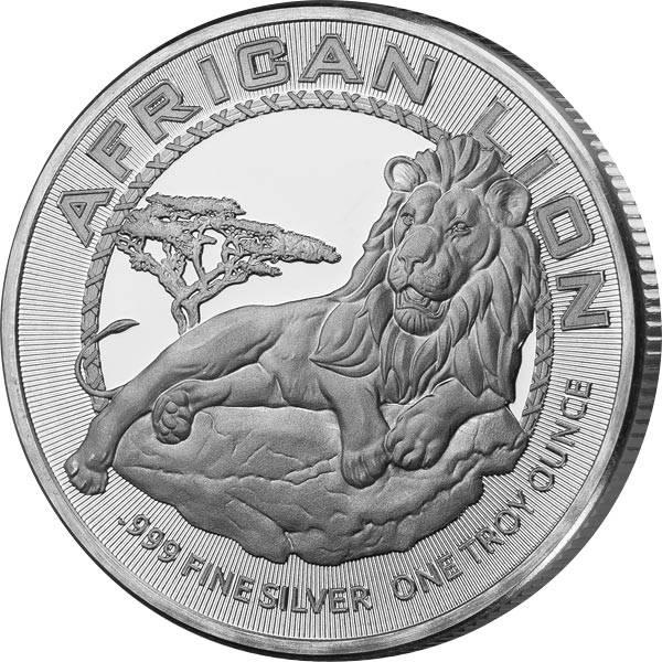 1 Unze Silber Niue Afrikanischer Löwe 2017