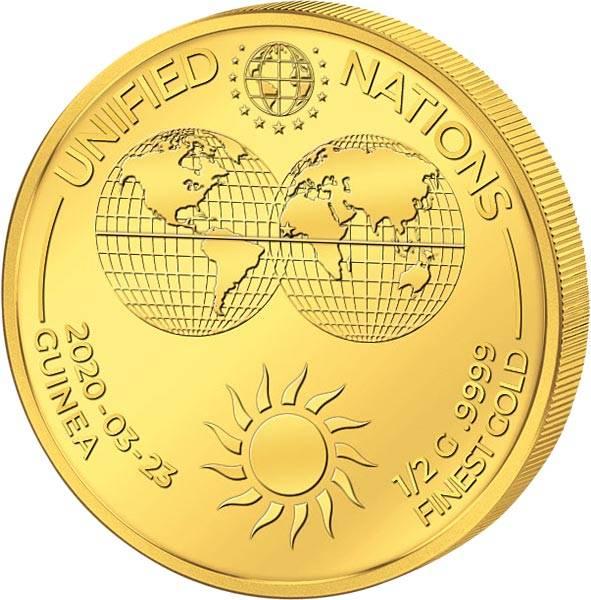 1.000 Francs Guinea Sonne 2020