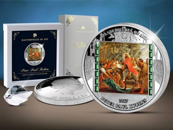 20 Dollars Cook-Inseln Peter Paul Rubens Einzug Christi 2017