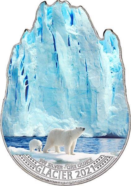 2 Dollar Fidschi Gletscher 2021