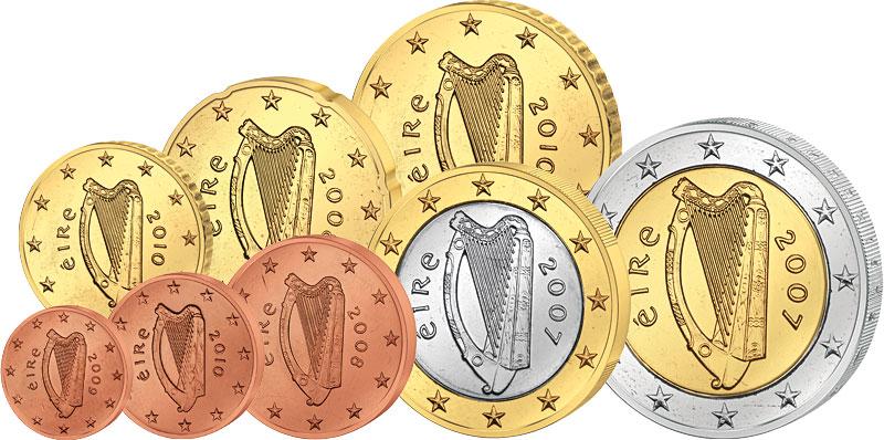 Euro Kursmünzensatz Irland Irland Europäische Münzen
