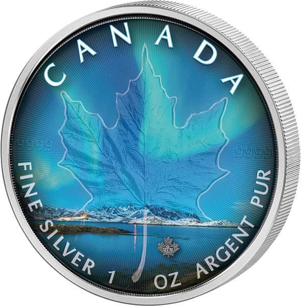 5 Dollars Kanada Maple Leaf Nunavut 2018