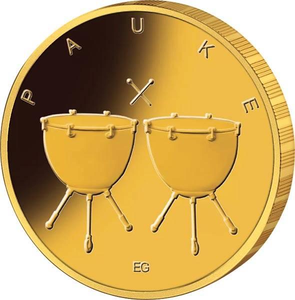 50 Euro BRD Pauke Gold 2021