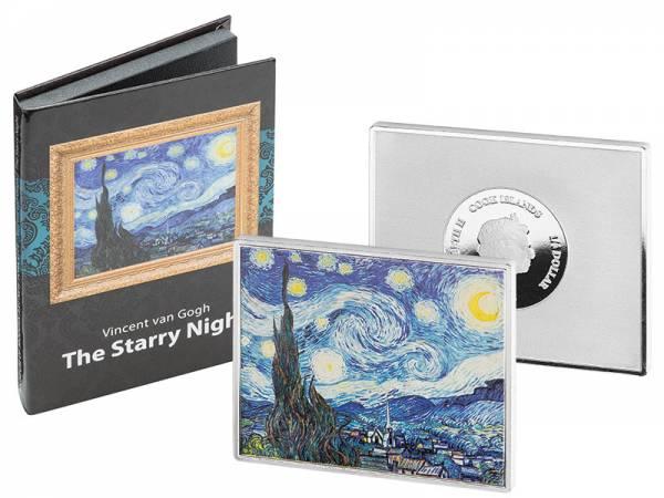 1/4 Dollar Cook-Inseln Vincent van Gogh Sternennacht 2016