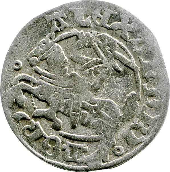 ½ Reiter-Groschen Litauen Großfürst Alexander 1492-1506 s-ss