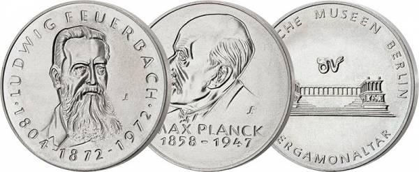3 x Gedenkmedaille DDR 1970, 1974 und 1979