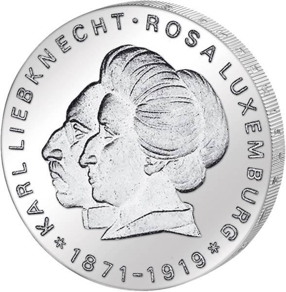 20 Mark Liebknecht und Rosa