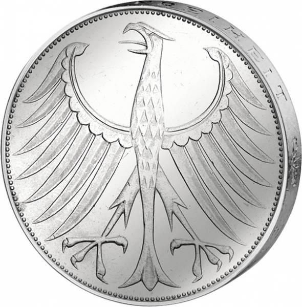 5 DM Münze BRD Silberadler 1973