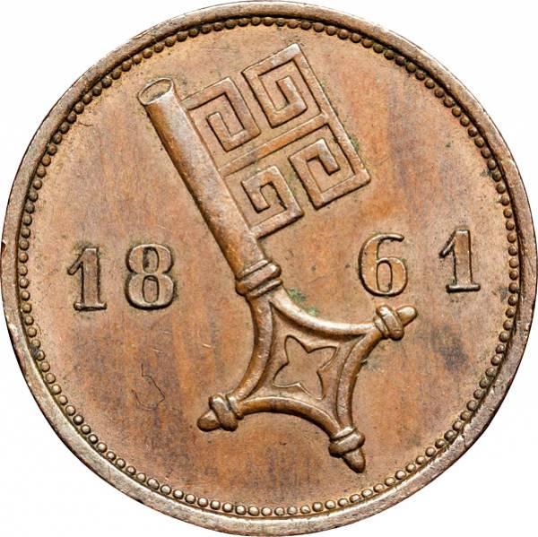2 1/2 Schwaren Freie und Hansestadt Bremen 1841-1866