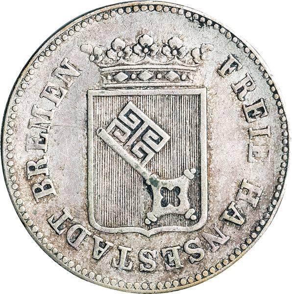 6 Grote Freie und Hansestadt Bremen 1840