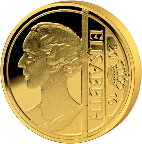12,5 Euro Belgien Königin Elisabeth 2016