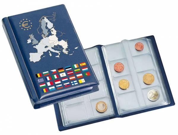 Münzen-Taschenalbum für Euro-Kursmünzen