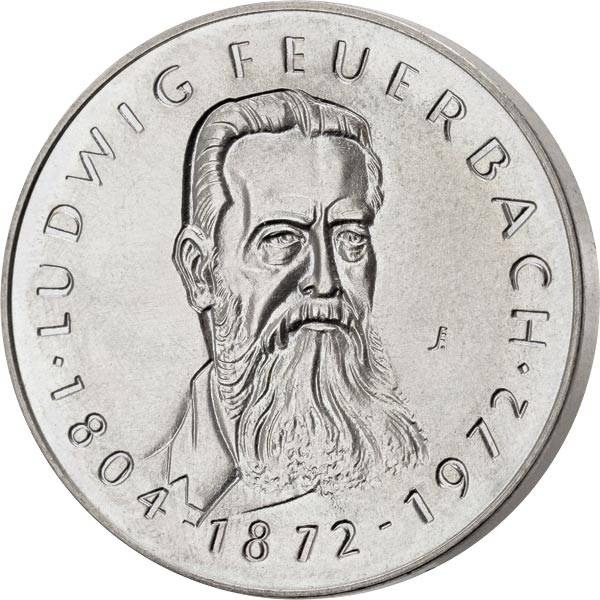 Gedenkmedaille DDR Ludwig Feuerbach 1972