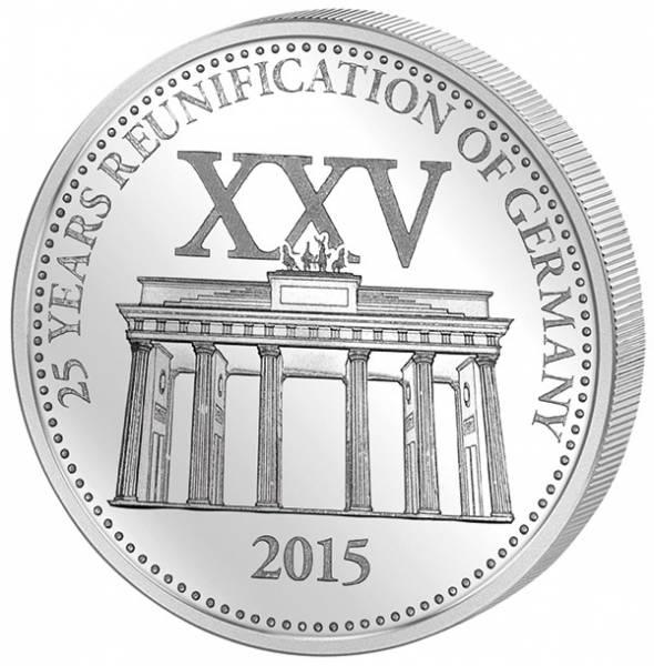 1 Dollar Samoa 25 Jahre Deutsche Einheit 2015
