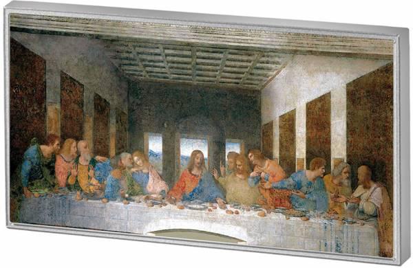 1/2 Dollar Salomonen Da Vinci Abendmahl 2016