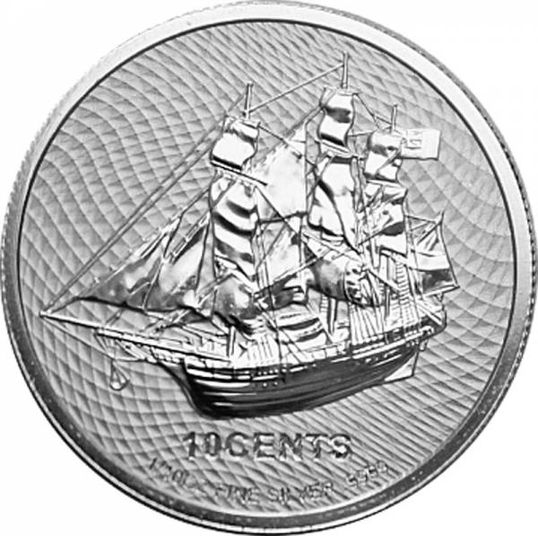 1/10 Unze Silber Cook-Inseln Bounty 2021