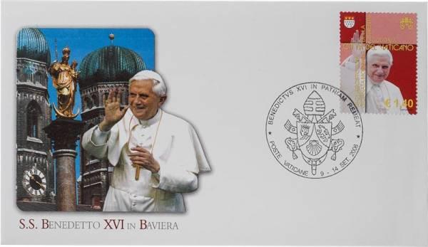 Gedenkbrief Vatikan Papstbesuch in Bayern