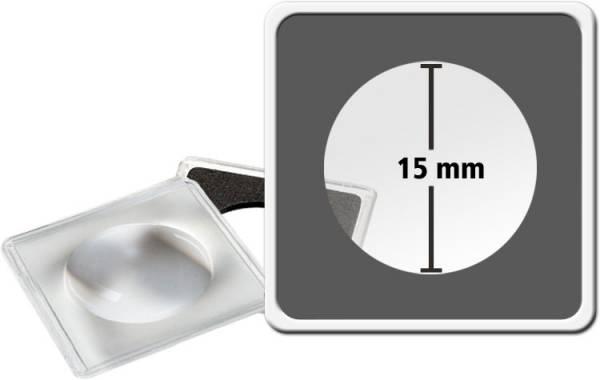 2er-Pack MAGNICAPS-Münzkapseln Durchmesser 15 mm