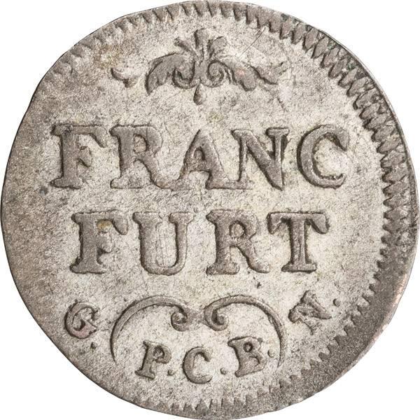 1 Kreuzer Freie Reichsstadt Frankfurt 1786-1789