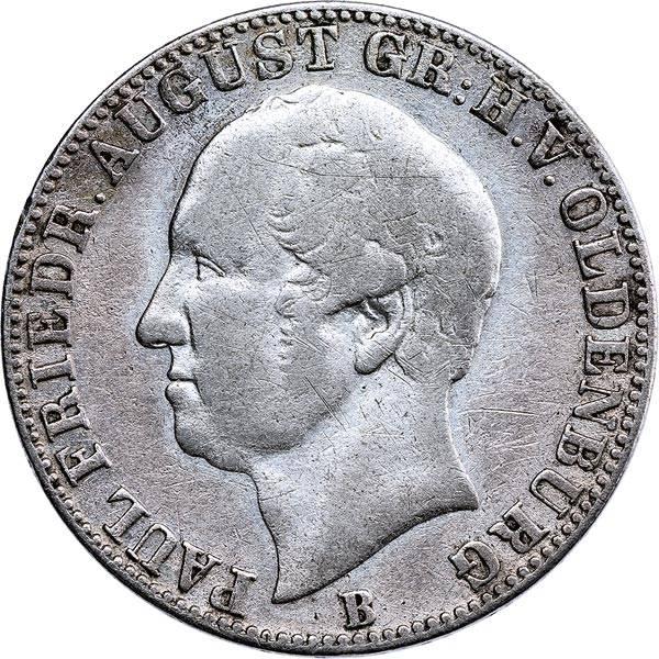 1/6 Taler Oldenburg Großherzog Peter Friedrich August 1846