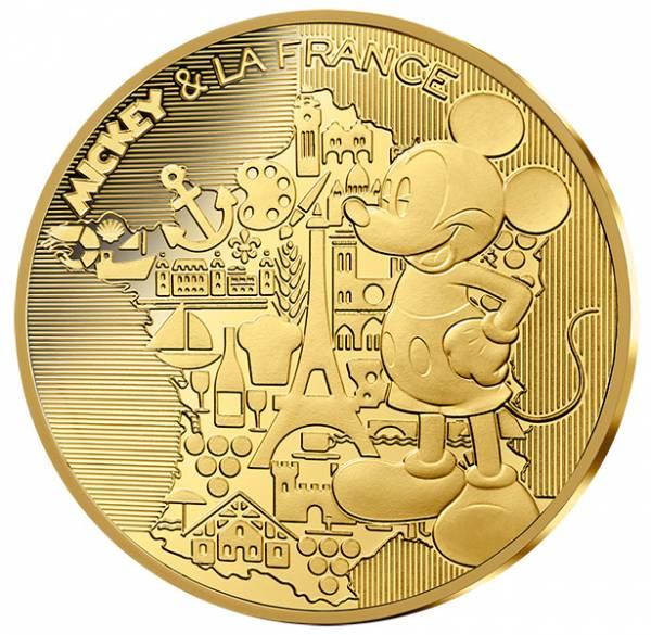 200 Euro Frankreich Mickey und Frankreich 2018