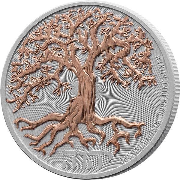 2 Dollars Niue Lebensbaum 2020 mit Keramikveredelung