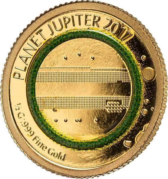 1.000 Francs Guinea Jupiter 2017