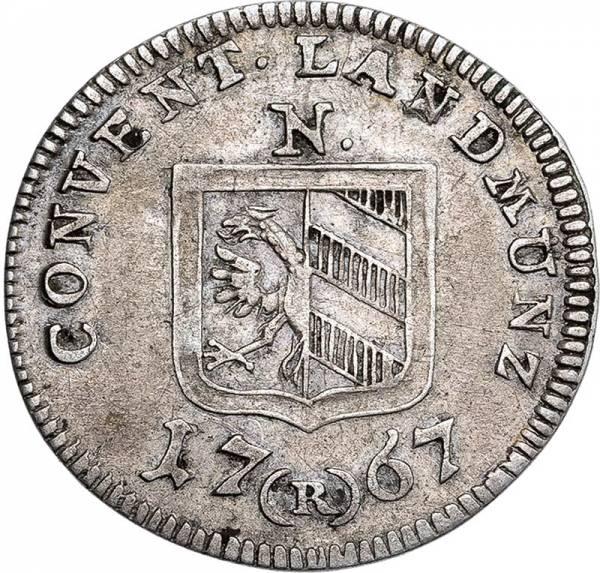 2 1/2 Kreuzer Nürnberg Freie Reichsstadt 1760-1776