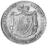 Taler Konventionstaler Heinrich ll. 1812 Vorzüglich