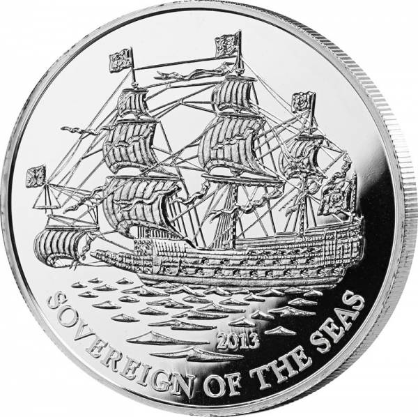 1.000 Francs Elfenbeinküste Sovereign of the Seas 2013
