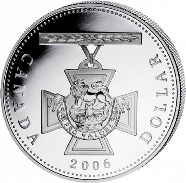 1 Dollar Kanada Victoria-Kreuz 2006 Proof-Like