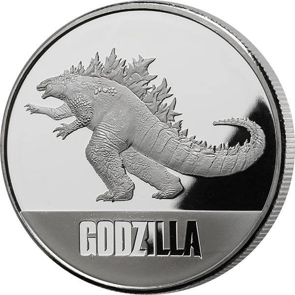 1 Unze Silber Niue Godzilla 2021