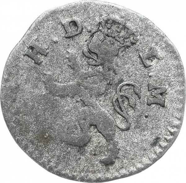 1 Kreuzer Hessen-Darmstadt Großherzog Ludwig I. 1806-1807