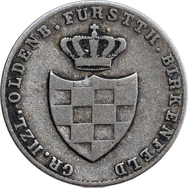 1 Silbergroschen Oldenburg Peter Friedrich August 1848