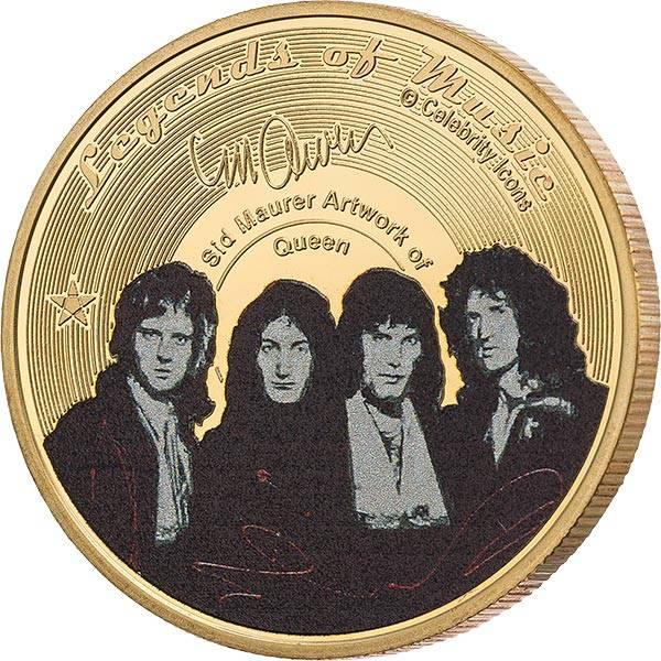 Gedenkprägung Queen Legends of Music